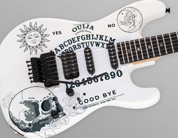 Luthier Guitar Decal Sets