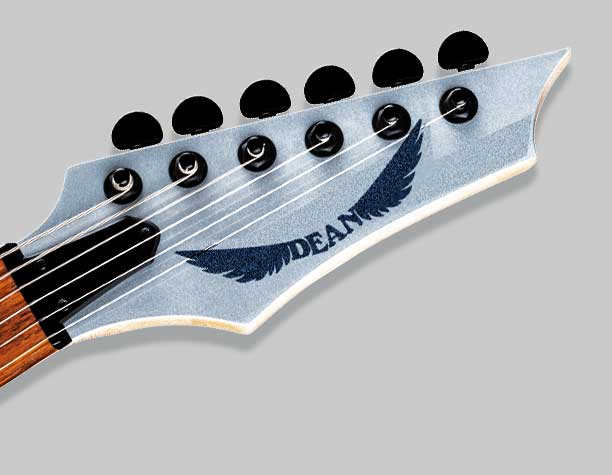 Guitar Headstock Decals and Logos