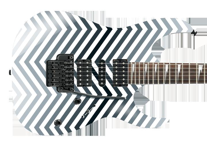Chevron Guitar Cover