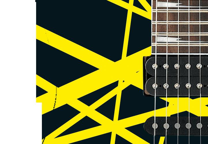Frankenstrat Black Guitar Cover