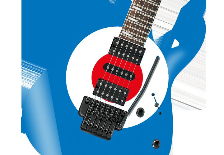 MOD Circle Roundel Guitar Cover