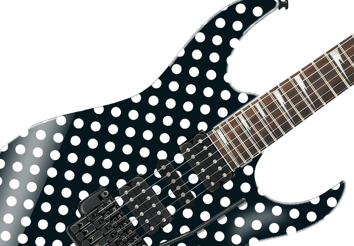 Randy Rhoads Polka Dot Guitar Cover