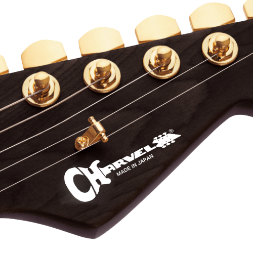 Charvel Made in Japan Luthier Headstock Decal