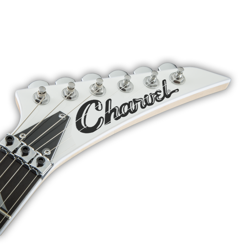 Charvel Guitars Luthier Headstock Scroll Decal