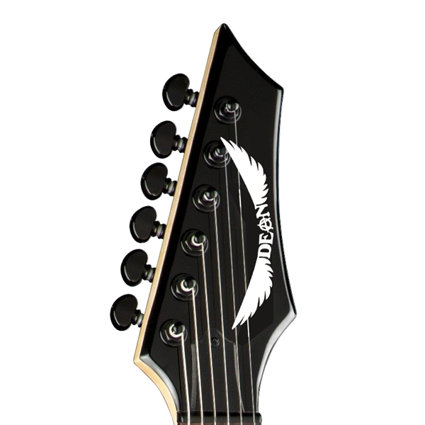 Dean Guitars Anarchy Headstock Decal