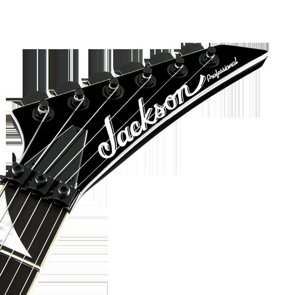 Jackson Professional Headstock Decal White