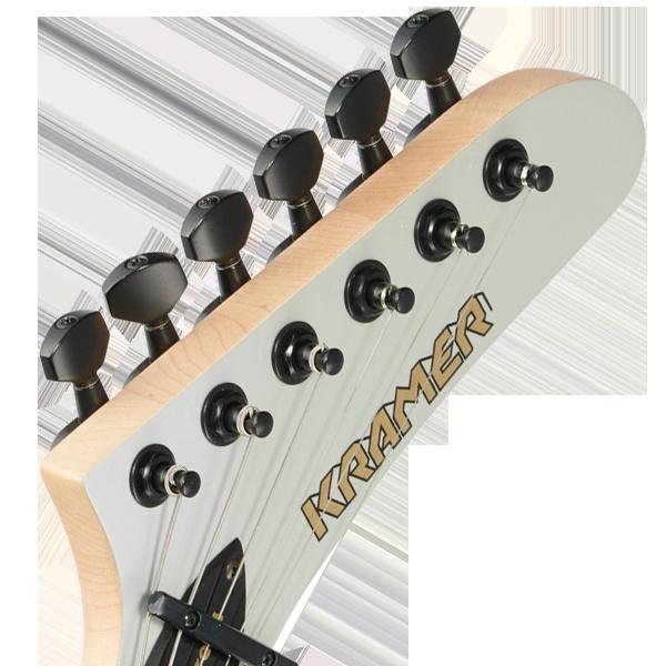 Kramer 3D Luthier Headstock Decal