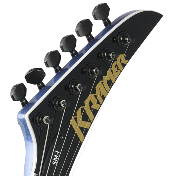 Kramer Pyramid Luthier Headstock Decal