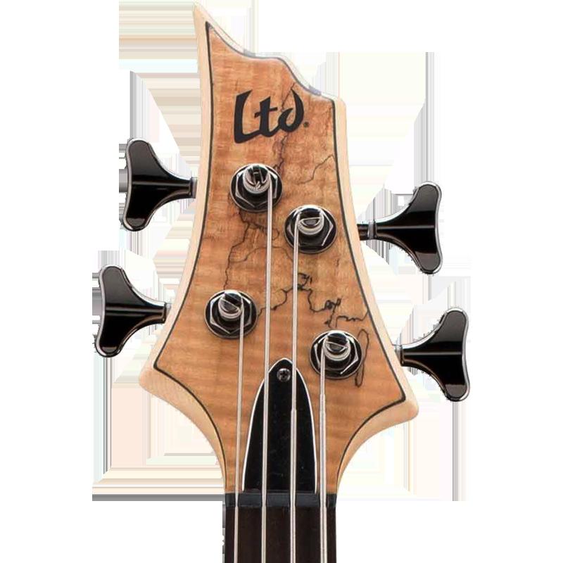 LTD Guitars Scroll Headstock Decal