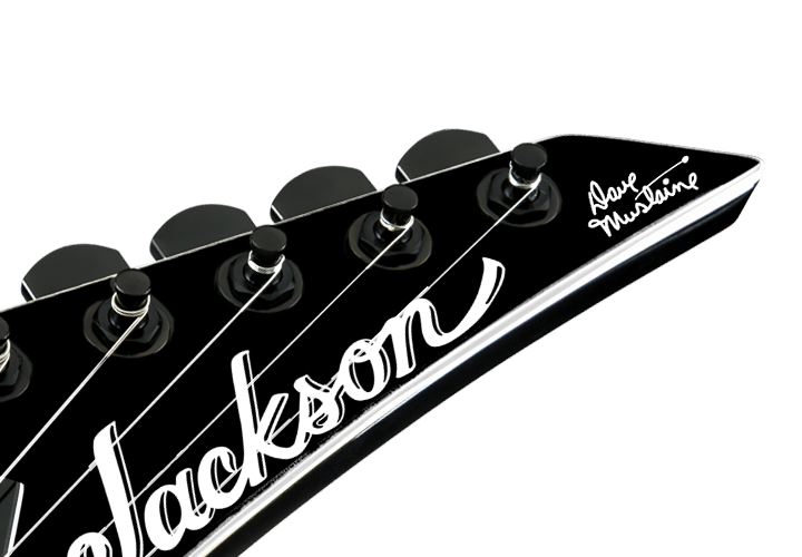 Jackson Dave Mustaine Signature Decal