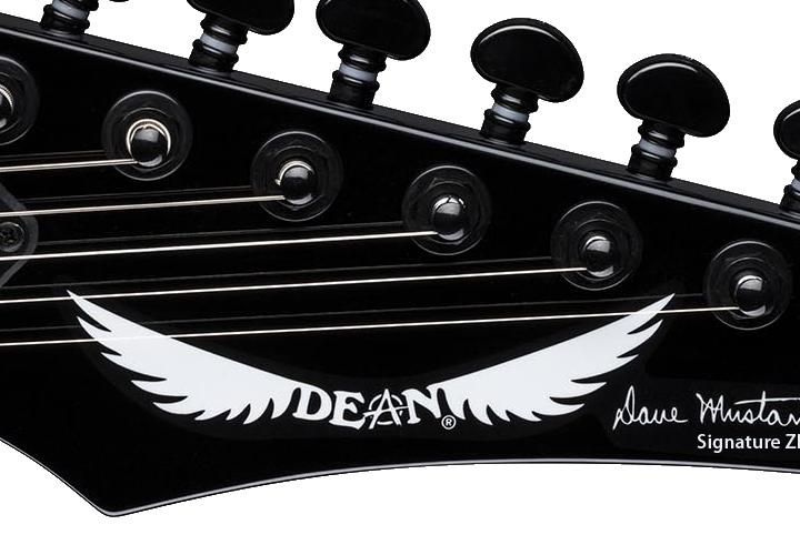 Dave Mustaine Signature Zero Decal