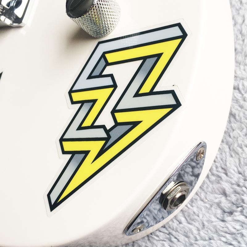 Lightening Bolt Guitar Sticker