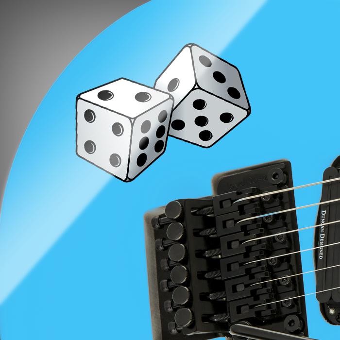 Iron Cross Guitar and Bass Sticker