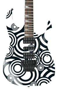 Bullseye Self Adhesive Guitar Cover