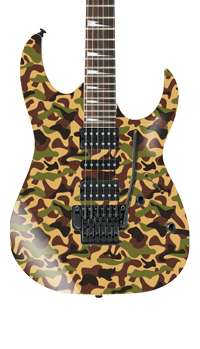 Camouflage Self Adhesive Guitar Cover