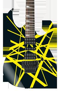 Frankinstrat Self Adhesive Guitar Cover Black