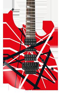 Frankinstrat Self Adhesive Guitar Cover Red