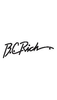 B.C. Rich Headstock Decal