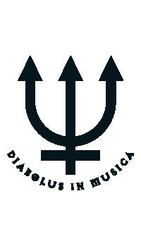 Diabolus in Musica Tritone Guitar Sticker