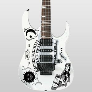 Ouija Board Guitar and Bass Waterslide Decal Set