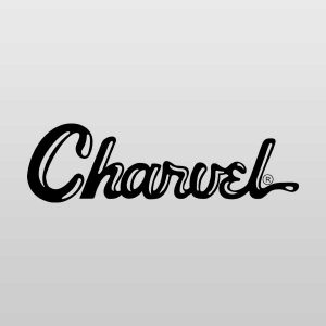 Charvel Scroll Luthier Headstock Guitar Decal