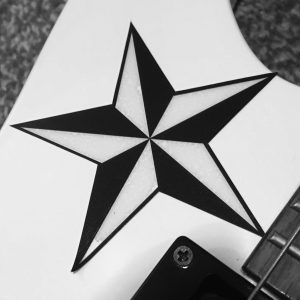 High Quality Self Adhesive Guitar Stickers