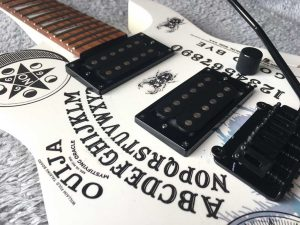 Alchemy Ouija Board Jackson Guitar Project