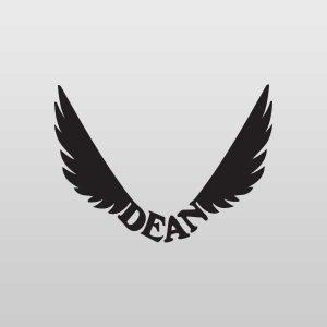 Dean Guitar Headstock Decals