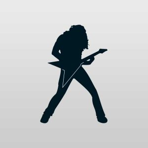 Dave Mustaine Silhouette
