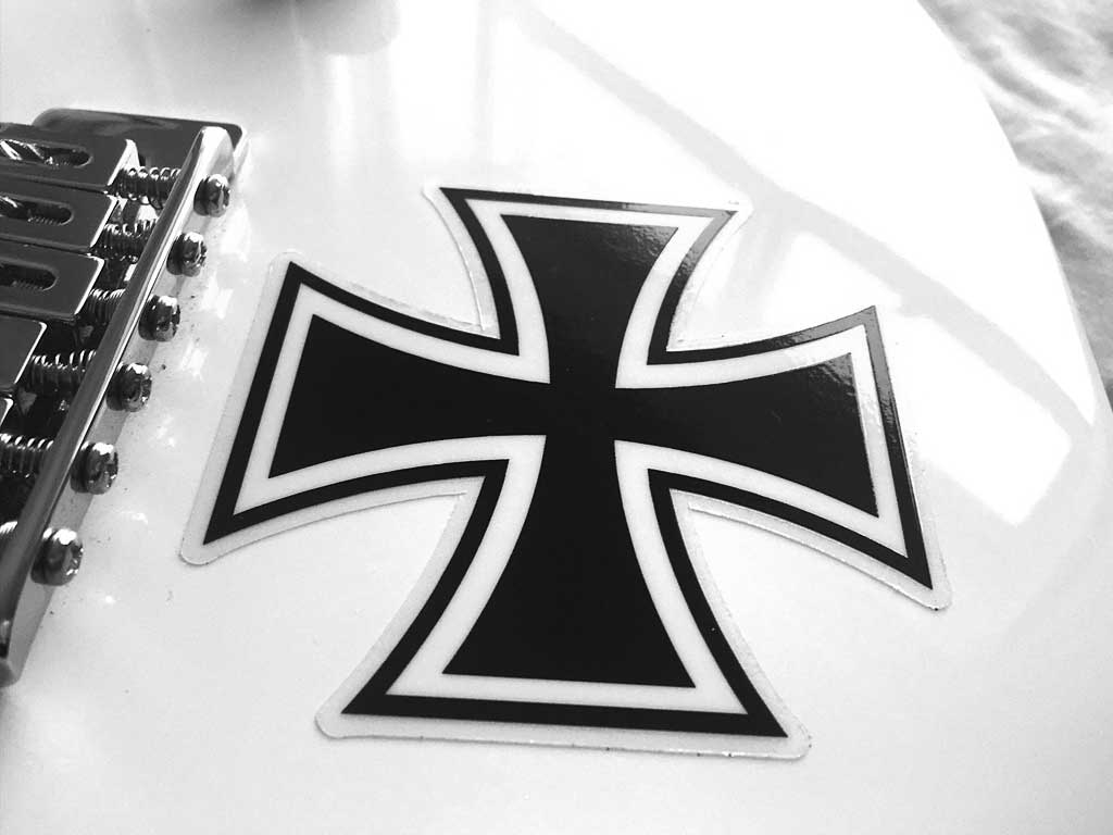 Low Price Guitar Stickers