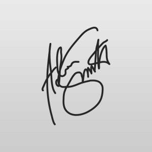 Jackson Guitars Adrian Smith Signature Headstock Decal